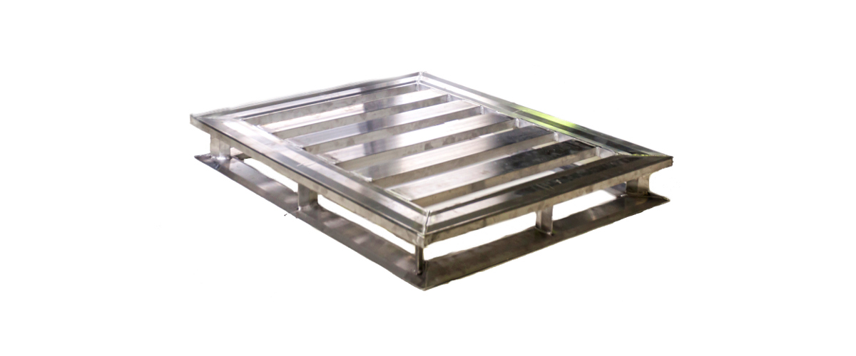 Standard aluminum pallet for GMA guidelines