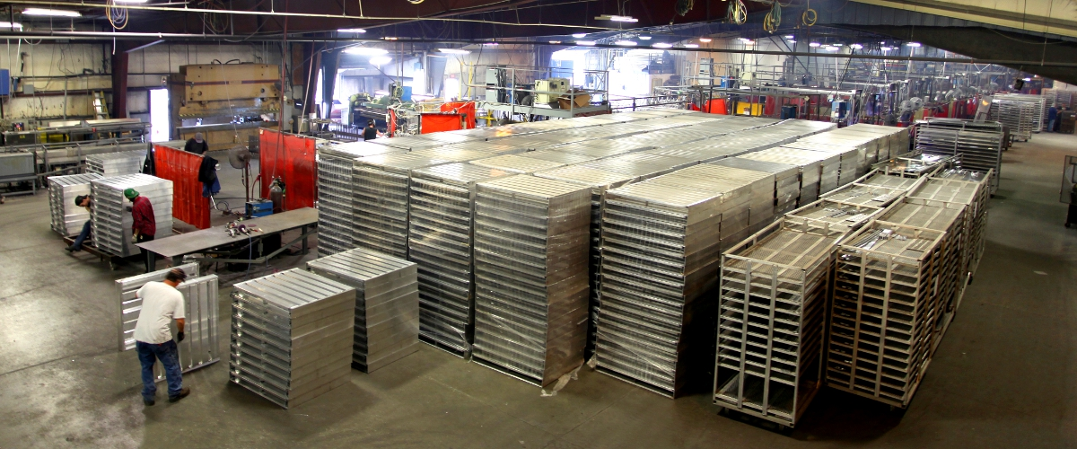 Custom pallets for the frozen food industries
