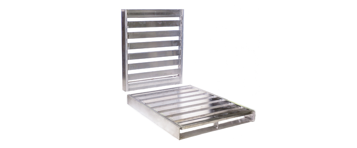 Food processing with aluminum pallets meets the Food Safety Modernization Act (FSMA)  Guidlines