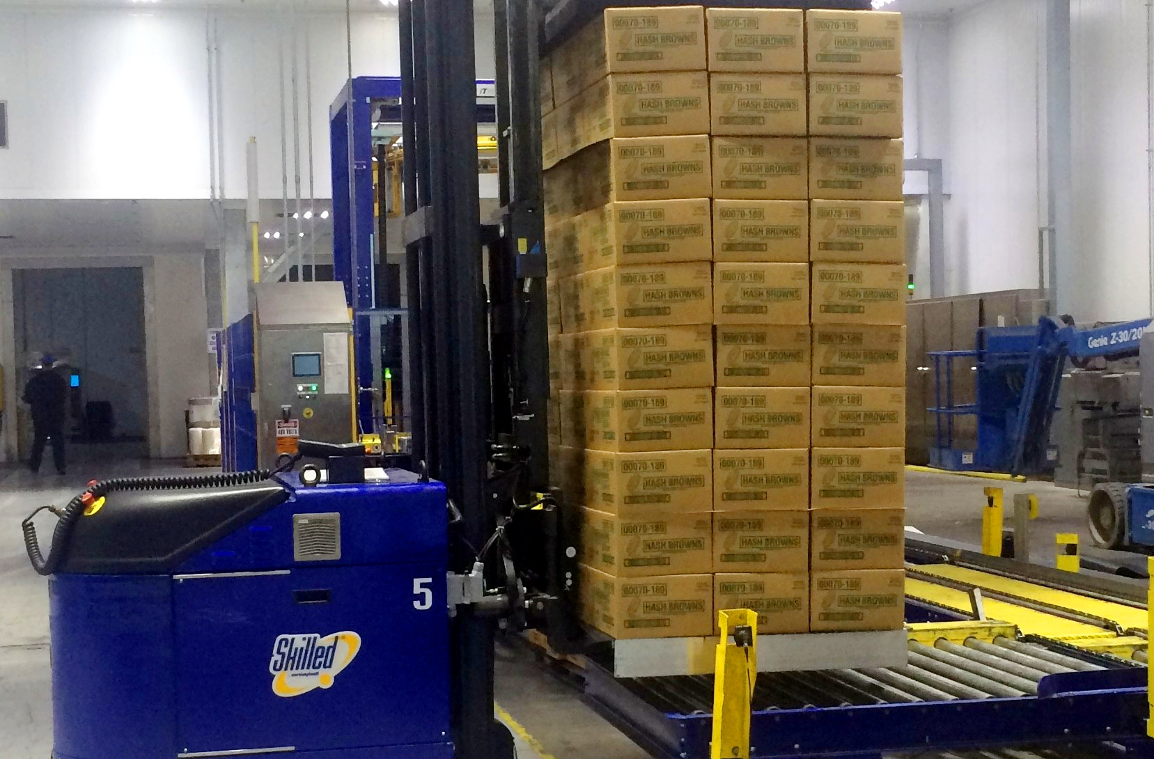 Simplot Using Sustainable Aluminum Pallet